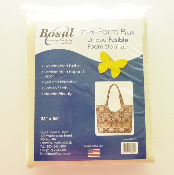 Bosal In R Form Plus Double Sided Fusible Foam Interfacing