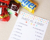 Baby Shower Game- 3 Pack