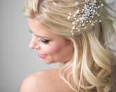 Crystal Bridal Comb, Wedding Hair Accessory,  Bridal Hair Accessory