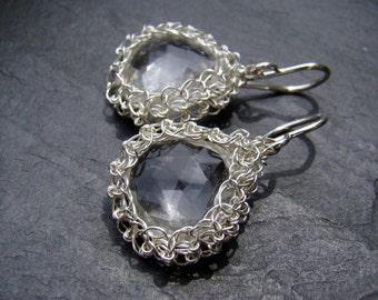 Silver Nest Earrings...