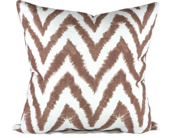 Premier Prints Diva Italian Brown and White Decorative Throw Pillow Free Shipping