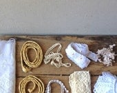 Collection of Vintage braids and trimmings for sewing