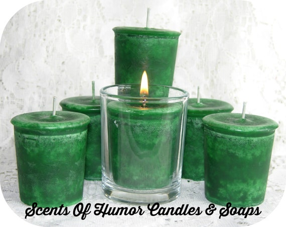 MARIJUANA - CANNABIS - MARY JaNE - Pot - Bud - Weed - Scented Votive Candles - Highly Scented - Strong Scent - Gift Boxed - Hand Poured