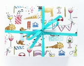 Gift Wrap - Celebrate Dogs Wrapping Sheets