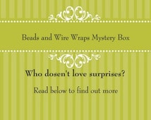 Jewelry mystery box, mystery box, surprise box, grab bag, loot bag, game of chance, subscription box, box of the month, item of the month