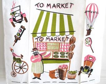 Vintage Towel Market Mid Century Eames