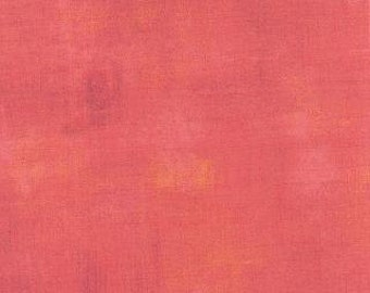 Salmon Grunge by Basic Grey Moda