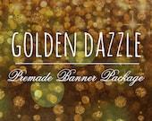 7 Piece Set - Golden Dazzle - Banner Package