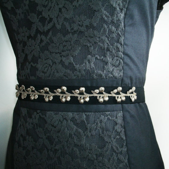 Holiday Fashion / Holiday Accessories / Metallic belt / Holiday Sparkle / Gifts under 25 / Holiday Gifts for Her / Tie Belt / Ready to Ship