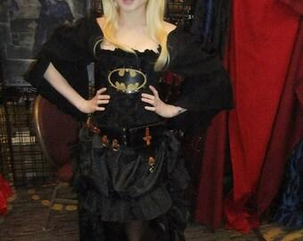 Black Steampunk Skirt