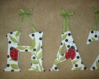 Lovely Ladybug Letters