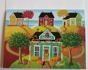 Hickory Hills Card with Envelope Artwork by Kim
