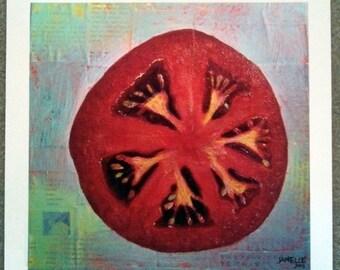 Circular Food - Tomato - Fine Art Print