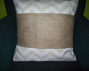 for 22 inch pillows-Wholesale 4 pcs Burlap Pillow Wraps BLANK with velcro closure