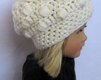 CROCHET PATTERN PDF , Hat for American Girl dolls or Newborn Photography Prop - CaN sell finished pieces, instant download, yarntwisted