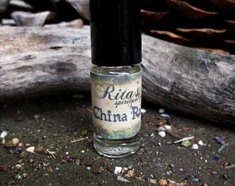 Rita's China Rain hand Brewed Ritual Oil - Pagan Magic, Hoodoo, Juju
