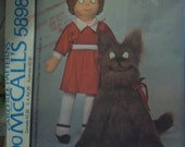 ANNIE Little Orphan Annie SANDY DOG McCalls 5898 sewing pattern uncut factory folded