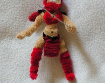 Fuzzy Figures -  Scarlet