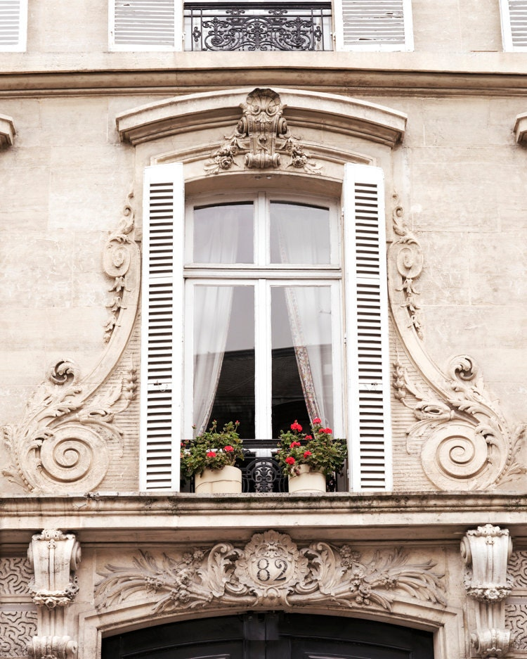 paris window photography le fenetre french home decor