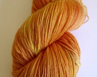 Oranges and Lemons Blue Faced Leicester Sock Weight Yarn