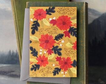 Martins Meadow // Single Card // Fawnsberg Stationery