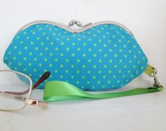SALE Wristlet Purse/Sunglasses Case