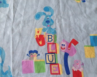 Blues Clues Toddler flat Sheet