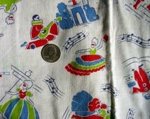 Vintage Feedsack Cotton Quilting Novelty Fabric - STILLaSACK - Masquerade Ball Gowns and Masks //  36 x 40