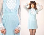 Vintage BabyDoll 60s Dress large/xl
