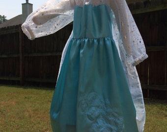 Elsa Frozen Disney Princess Dress costume dress up gown