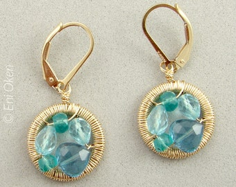 Mini Mosaic Earrings  PDF tutorial