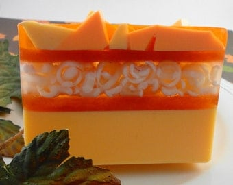 Soap - Pumpkin Spice Soap Made with Goats Milk - Glycerin Soap - Handcrafted Soap - SoapGarden