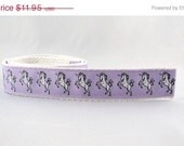 Three Styles Sookie Wrap Childrens Belt Unicorns in Light Purple