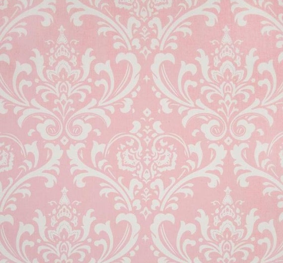 Baby pink curtain panels light baby damask curtains drapery window