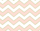 Michael Miller - Chic Chevron Pearlized in Confection - By the Yard