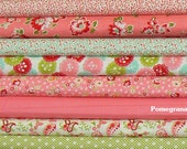 Bonnie and Camille...Scrumptious..Moda fabrics..8 fat quarter pack...