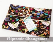 Fliptastic Changemat Sewing Pattern (Foldable Baby Changemat with Diapers & Wipes Pocket)