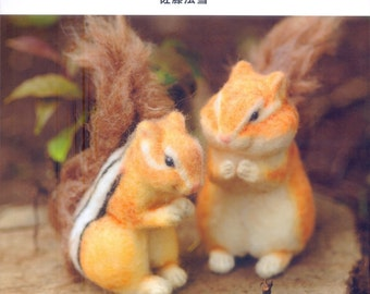 Master Housetu Sato Collection 04 - Cute Animal Felt Wool - Japanese craft book
