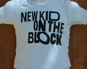 New Kid on The Block baby bodysuit