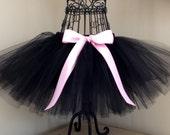Kitty Cat tutu- Kitty Cat Costume- Black cat costume- Toddler Cat costume- Black Swan tutu- Girls cat tutu- Girls Black Cat tutu- Black tutu