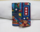 Handmade - Sports Themed - Baseball -  Kindle Cover -  Padded eReader - Kindle - Kindle Fire - 6 to 7 inch tablet cover  - case
