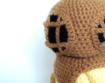 Deep Sea Diver - Crochet Pattern