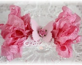 Seam Binding Crinkle Ribbon~ Brilliant Rose~5 Yards, Scrapbooking, Cardmaking, Tag Art, Sewing, Gift Wrap