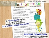 Pass the Prize Baby Shower Game (a must-have and so much fun) / neutral boys girls games pass the gift Printable PDF file INSTANT DOWNLOAD