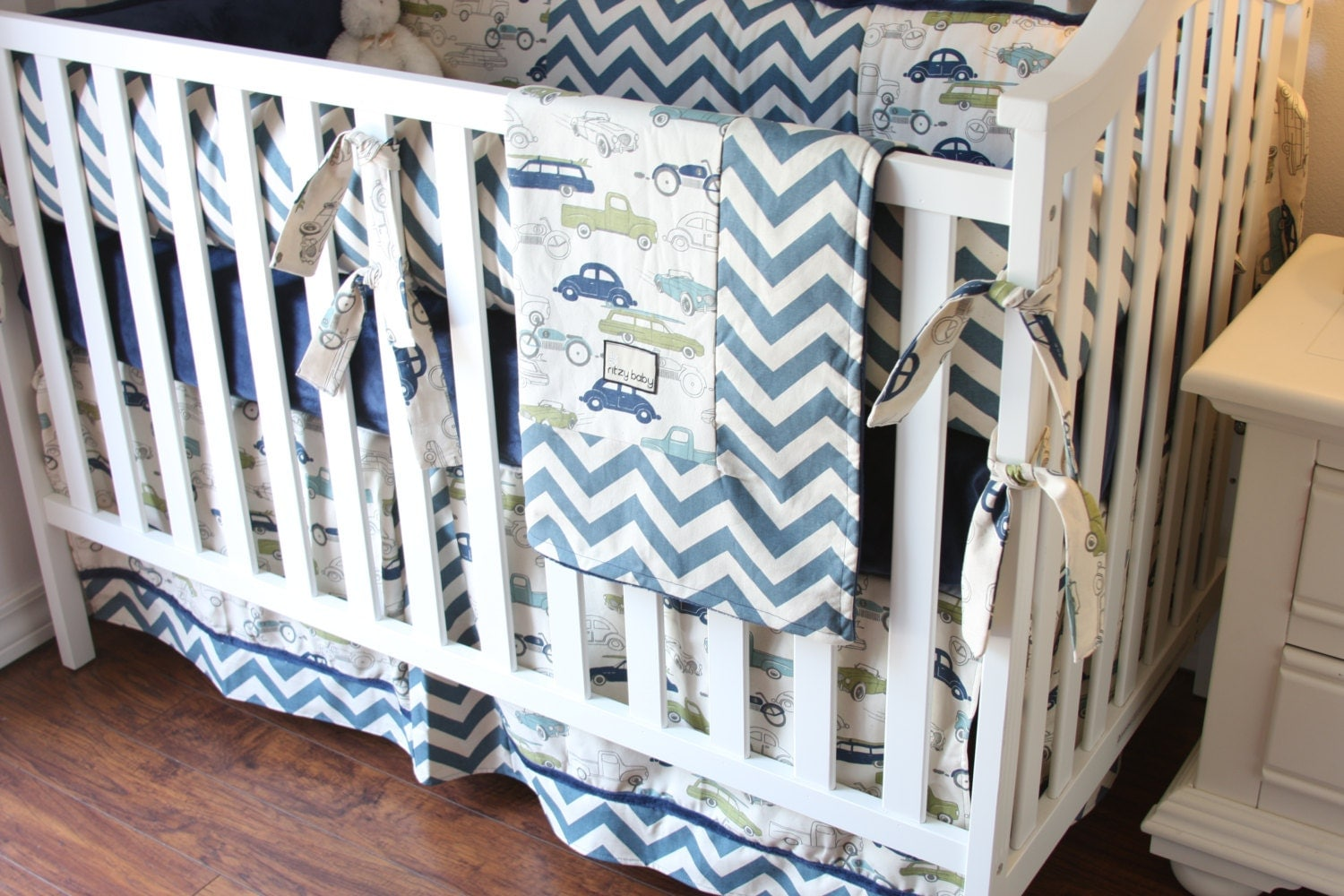 Vintage Cars Boy Crib Sets Boy Crib Bedding Cars Bedding For