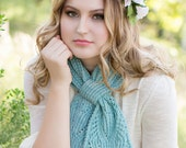 Chantilly Lace Ascot PDF Knitting Pattern Instant Download