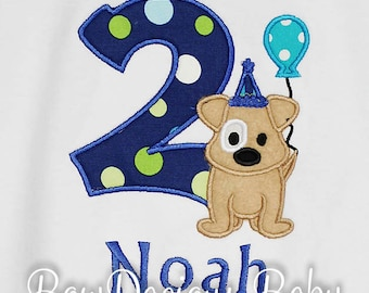 Puppy First Birthday Shirt, Puppy Party, Puppy Birthday Shirt, Boys Puppy Shirt, Dog Birthday Shirt, Dog First Birthday, Dog Party, Bodysuit
