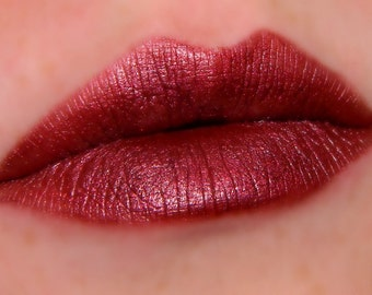 GARNET Burgundy Red Lipstick