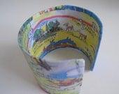 "Vintage Naples Florida cuff - 2"""