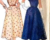 Vintage Dress Sewing Pattern  Simplicity 4667 Size 20 Plus Size
